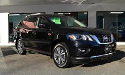 Make Nissan Model Pathfinder Year 2018 Colour Black kms 30968 Trans Automatic ZERO ACCIDENTS, TONES OF FACTORY WARRANTY, ROOM FOR 7 PASSENGERS, LOCAL BC VEHICLE, 4X4 AND LOADED WITH OPTIONS! Options include: Navigation, Backup Camera, Heated Steering