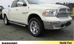Make Ram Model 1500 Year 2018 Colour White kms 4726 Trans Automatic Price: $75,635 Stock Number: D-8RA9519 VIN: 1C6RR7NT4JS179519 Interior Colour: Black Engine: 5.7L HEMI VVT V8 w/FuelSaver MDS Fuel: Gasoline Demo Unit. Air Suspension. Navigation. Power