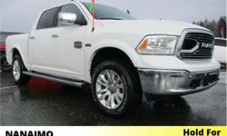 Make Ram Model 1500 Year 2018 Colour White kms 2250 Trans Automatic Price: $52,995 Stock Number: D-8RA6658 VIN: 1C6RR7PT7JS176658 Engine: 5.7L HEMI VVT V8 w/FuelSaver MDS Fuel: Gasoline Demo Unit. Air Suspension. Navigation. Rear View Backup Camera.