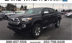Make Toyota Model Tacoma Year 2018 kms 10169 Trans Automatic Price: $44,900 Stock Number: 108553 VIN: 5TFGZ5AN9JX122277 Engine: Regular Unleaded V-6 3.5 L/211 Cylinders: 6 Fuel: Gasoline Only 10,169 Miles! This Toyota Tacoma delivers a Regular Unleaded