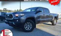 """Make Toyota Model Tacoma Year 2018 Colour Grey Trans Automatic We are Canada's #1 KIA Retail Volume Dealer. Our volume purchasing power saves you money! Our motto """"we can replace vehicles, we cannot replace our customers!"""" is the reason we sell more new"""