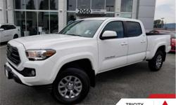 Make Toyota Model Tacoma Year 2018 Colour White kms 17941 Trans Automatic Price: $39,995 Stock Number: TC1986 VIN: 5TFDZ5BN8JX031986 Engine: 278HP 3.5L V6 Cylinder Engine Fuel: Gasoline Heated Seats, Rear View Camera, Bluetooth, SiriusXM, Trailer Hitch,