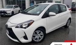 Make Toyota Model Yaris Year 2018 Colour White kms 43039 Trans Automatic Price: $17,895 Stock Number: TC6743 VIN: VNKKTUD33JA086743 Engine: 106HP 1.5L 4 Cylinder Engine Fuel: Gasoline Heated Seats, Rear View Camera, Bluetooth, Air Conditioning, Steering