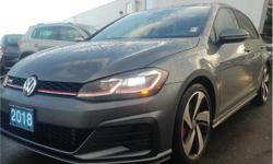 Make Volkswagen Model Golf GTI Year 2018 Colour Platinum kms 18111 Trans Automatic Price: $34,627 Stock Number: S5011A VIN: 3VW447AU1JM267143 Interior Colour: Black Engine: 2.0L Inline4 Turbo Engine Configuration: Inline Cylinders: 4 Fuel: Regular