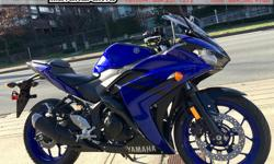 2018 Yamaha YZF R3 ABS Sport Motorcycle * Motorcycle Show Bonus!! * $5899. The best-performing entry level sport bike now has ABS! Colour: Blue. Buy with confidence from a Genuine Yamaha Dealership. ContactPatrick or Dave at our Surrey location -