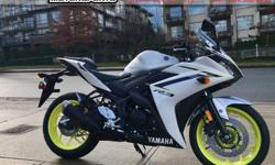 2018 Yamaha YZF R3 ABS Sport Motorcycle * Motorcycle Show Bonus!! * $5899. The best-performing entry level sport bike now has ABS! Colour: White. Buy with confidence from a Genuine Yamaha Dealership. ContactPatrick or Dave at our Surrey location -