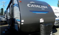 Price: $31,495 Stock Number: RV-1800 Check out the beautiful modern finishing in the newly redesigned 2019 Catalinas! Bunk unit w great u-shaped dinette & private front bedroom!2019 Coachmen Catalina SBX 221TBSThe Catalina SBX carries on the Coachmen