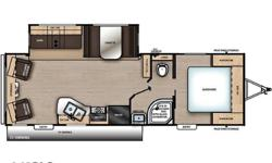 Price: $38,995 Stock Number: RV-1829 Newly designed inside & out! Offers rear living with plenty of conveniences, large slide for added space. and dual entry doors!2019 Coachmen Catalina Legacy Edition 263RLSThe Coachmen Catalina is a trusted name that