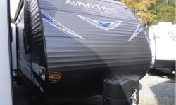 Price: $33,980 Stock Number: 19N0137 VIN: 4YDT28827KY921905 Interior Colour: Driftwood Hit the trail to family fun. Aspen Trail travel trailers combine high-end materials and construction with smart, stylish design for luxurious yet affordable RV living.