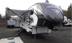 Price: $63,980 Stock Number: 19N0151 VIN: 4X4FWBMKV702602 Interior Colour: Woodland Your family is sure to enjoy every minute of camping in this Wildwood Heritage Glen LTZ 356QB fifth wheel. From the two entry doors to the two bathrooms, you will love all