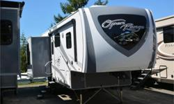 Price: $73,950 Stock Number: 937311-4261 VIN: 58TCH0BS1K3BA3055 Interior Colour: SIENNA Highland Ridge Open Range fifth wheel OF337RLS highlights: Portable Island Large Sofa Free Standing Dinette Double Entry Bath   Searching for the perfect fifth