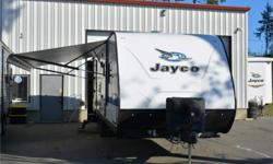 Price: $44,950 Stock Number: 964317-4310 VIN: 1UJBJ0BP1K1J80070 Interior Colour: midnight Jayco Jay Feather 25RB travel trailer highlights: Private Bedroom U-Dinette Jackknife Sofa   Dreaming about getting away from work for a long weekend or even a