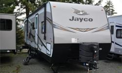 Price: $46,950 Stock Number: 962594-4307 VIN: 1UJBJ0BR0K1TC0266 Interior Colour: TOFFEE Jayco Jay Flight 28BHBEtravel trailer highlights: Dual Entry Double Bunks Rear Bath U-Shaped Dinette Sofa Queen Simmons Mattress  If family camping is all
