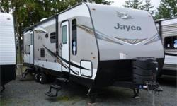 Price: $46,950 Stock Number: 958247-4306 VIN: 1UJBJ0BR1K1TD0241 Interior Colour: Saddle Jayco Jay Flight 28BHS travel trailer highlights: Double Bunk Beds Dual Entry U-Shaped Dinette Rear Bath Queen Simmons Mattress Outside Kitchen  It's time to