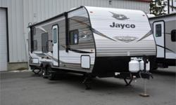 Price: $30,950 Stock Number: 982755-4331 VIN: 1UJBJ0BN2K75V0325 Interior Colour: Charcoal Jayco Jay Flight SLX Western Edition 264BHW travel trailer highlights: Double Size Bunks Semi-Private Bedroom J-Steel Jackknife Sofa Booth Dinette Private Toilet and
