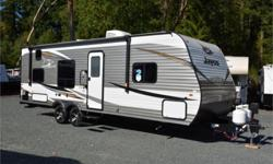 Price: $30,950 Stock Number: 964316-4309 VIN: 1UJBJ0BN4K75V0259 Interior Colour: truffle Jayco Jay Flight SLX Western Edition 264BHW travel trailer highlights: Double Size Bunks Semi-Private Bedroom J-Steel Jackknife Sofa Booth Dinette   Just imagine