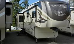 Price: $117,950 Stock Number: 941779-4273 VIN: 1UJCJ0BV1K1LL0195 Interior Colour: grey stone Jayco North Point fifth wheel 377RLBH highlights: Outside Kitchen Bunk Room Loft Large Island   Get ready to make plenty of memories with your family when