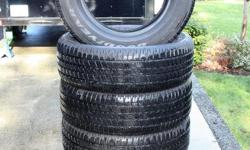 P275 / 60R20 Goodyear Wrangler SR/A. These are NEW and off my Dodge RAM