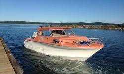 1978 Double Eagle 20' boat Rebuilt 302 Ford Engine with less than 2 hours. 2015 Yamaha 9.9 kicker with high thrust - under 3 hours! Like new! New carb New alternator New battery Completely redone interior New upholstery New toilet Under cabinet