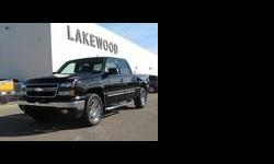 2007 Chev Silverado 1500 LT Crew Cab 4X4 located at Lakewood Chev in Edmonton, AB. This is a Lakewood vehicle. This Classic body style is loaded with a 5.3L engine, sunroof, DVD and much more.It has passed the GM Optimum inspection and comes with a