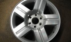 """4 used 20"""" rims $800.00 for the set of four Fits 07-11 Chev Silverado Center caps included."""