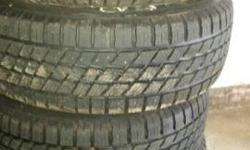 215/60R15 Nordic Icetrack Winter Tires on Rims 4 Nordic Icetrack winter tires mounted on rims. 3 seasons old, hardly driven on the last year. Selling because they don't fit our new vehicle.