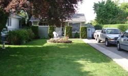 Cute, well built two bedroom and open rec room minutes away from downtown Chilliwack. Newer appliances, indoor paint, roof andretractable awning off back deck.Low maintenance yard, long gravel driveway for RV storage.Why buy a condo when you can own a