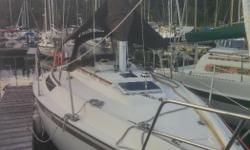 """""""Yachtsea"""" needs a new family as the one she has been cruising around the islands grew up. She is a great sailer with 9'10"""" beam and has lots of room for a couple or family with young kids. There are two berths aft of the cockpit that can be used for"""