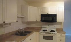 # Bath 1 Sq Ft 900 # Bed 2 2 bedroom condo on ground level freshly painted newer appliances , stove ,fridge ,microwave, and dishwasher, and newer kitchen and bathroom reno, low strata fee, base board heat , hot water included, close to longwood mall and