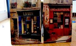 2 canvas pictures, both are 24 inches x 36 inches. Call Damien 227-2722