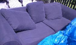 First come 2 couches not bad shape call thom needed gone now
