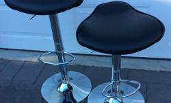 Adjustable. Counter or Bar Heights. $70.00 each or $130 for both.