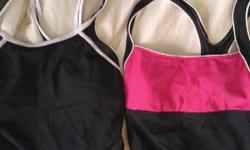 Pink is size 8 black size 10. Take both for 5. See my other ads as well.