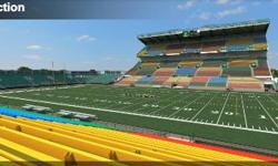 I have 2 tickets for sale In section 23 row 19 seats 16 and 17. This game is on Sunday September 18 at 2:30 pm at Mosaic Stadium vs Edmonton Eskimos Asking 120.00 O.B.O.