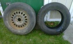 2 FREE Michelin Tires 245/65/R17 All season 1 is a full spare tire and the 2nd is a tire without rim FREE  FREE Glace Bay area