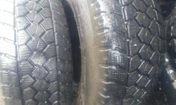 2 used LT-245/75/16 Toyo winter's 45% remaining Posted with Used.ca app