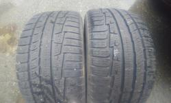 2 used 225/45/17 nokian wg3 winter's 70% remaining Posted with Used.ca app
