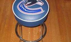 2 Vancouver Canucks Bar Stools in excellent condition $100 for both New they are $109 each as similar item in link: http://shop.nhl.com/product/index.jsp?productId=2930202 Please call 250-535-1060 if interested - thanks!