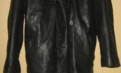 2 XXL leather coats in excellent condition $75 each 604 800 2104 (Kelowna)