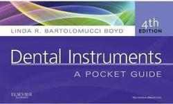 Dental Instruments Pocket Guide 4th Edition- Bartolomucci Boyd- Paperback spiral- Brand new