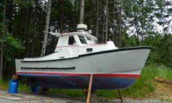 30ft Aluminum Trawler. Strong 4-53 GM diesel in very good condition. Dry exhaust. Heavy commercial construction. VHF, hyd steering. Batteries only 2 years old. Spartan workboat interior. No microwave, no fridge, no toilet, no shower, no autopilot, no