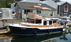 This is a great example of a late model Ranger 31CB. This is a very well equipped vessel which also includes a tender, outboard and a Sea-wise davit system. This boat has had light use over two seasons with about 150 hours on the 300hp Volvo Penta D6