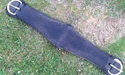 """33"""" girth strap - nylon web covered w/ neoprene. Some checking in neoprene. See my other listings for more horse gear."""