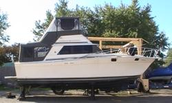 Great Boat! Runs well and is in great condition. Full canopy is only a few years old and in great condition. Selling because we are moving. If you are looking for a cottage on the water this boat is it. It has a full kitchen(fridge with small freezer for
