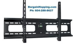 Super low profile style. 10 degree tilt 165 lbs weight capacity Brand new LCD LED Plasma TV Bracket Wall Mount With Tilt For 36-63 inch TVs. Ph: 6 0 4 28 8 8 6 2 7 tv bracket Vancouver, tv bracket Burnaby, tv bracket Langley, tv bracket Coquitlam, TV Wall