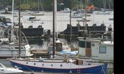 SAILBOAT FOR SALE: Thirty seven and a half ft. Benford dory. An excellent live-aboard and off-shore sailer. Sacrifice sale. Owner willing to advise and assist new owner on sailing and live-aboard operations. Reasonable offers invited. PHONE 250 324 3217