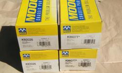 """Brand new, (2) upper (#K80026) and (2) lower (#K8607T) ball joints by """"MOOG"""" for F250 superduty 4x4."""