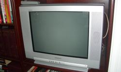 """1 ) 13"""" RCA - $20 2 ) 20"""" Sony - $25 3 ) 27"""" Sony - $30 All as new and in good working order....."""