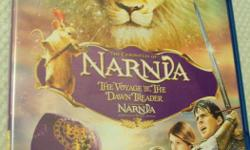 3D BLU-RAY MOVIES TITLES: NARNIA - VOYAGE OF THE DAWN TREADER, YOGI BEAR , TRANSFORMERS -DARK OF THE MOON ( NEW STILL IN WRAPPING ) $10 EACH. ALSO CHECK MY SELLERS LIST. PHONE ONLY