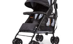 Finally, a stroller that can actually hold all your STUFF! With one of the largest storage baskets on the planet, this stroller will actually be able to keep up with you and your adventures! Rear storage extension means you can make your basket bigger